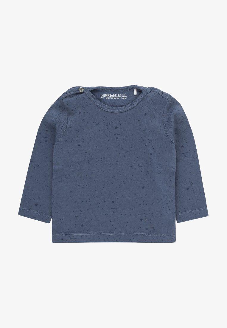 Imps&Elfs - JIP2 - Long sleeved top - steal blue / dark steal blue