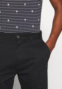 Burton Menswear London - STRETCH - Chino - black - 3
