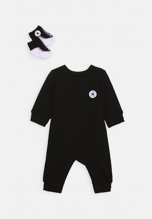 LIL CHUCK COVERALL SET UNISEX - Jumpsuit - black