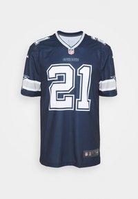 Nike Performance - NFL DALLAS COWBOYS EZEKIEL ELLIOT LEGEND TEAM - Klubové oblečení - college navy - 3