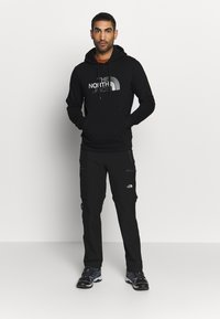 The North Face - DREW PEAK HOODIE - Huppari - black - 1