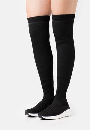 BIACHARLEE LONG - Laarzen - black