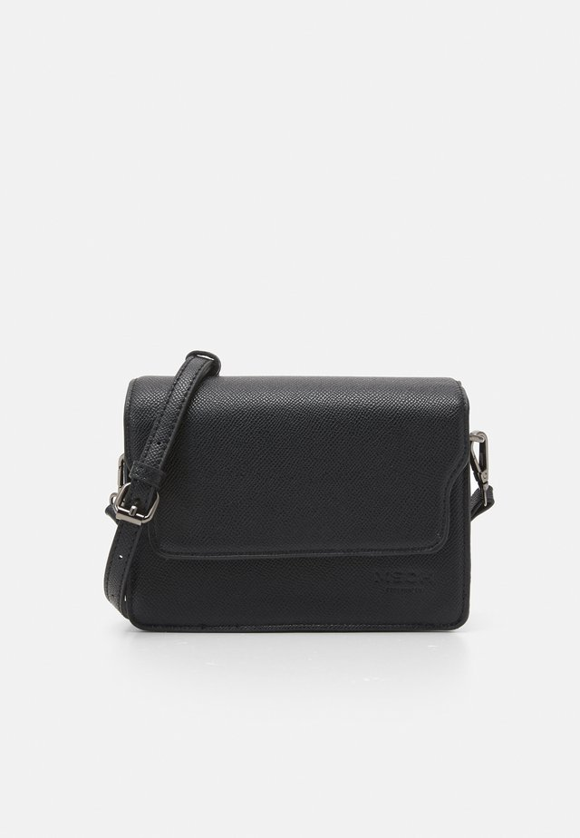 NADIMA CROSSOVER BAG - Taška spříčným popruhem - black