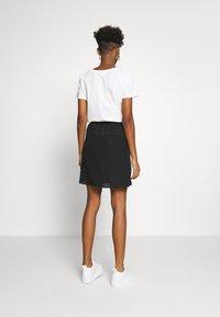 JDY - JDYNIKKY  - A-line skirt - black - 2