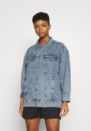 KATRINA JACKET - Denim jacket - blue medium dusty mid blue
