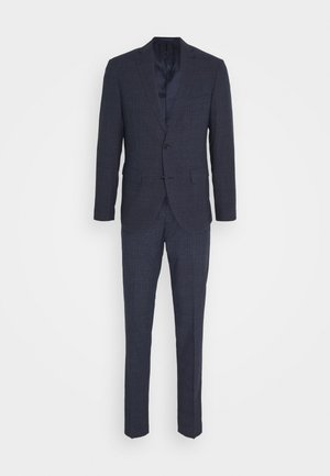 CHECK SUIT - Oblek - ink blue
