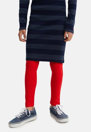 MEISJES SKINNY FIT - Legging - red