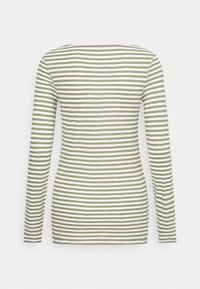 Marc O'Polo - LONG SLEEVE - Long sleeved top - multi/dried sage - 6