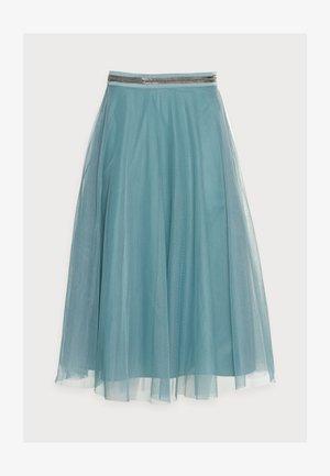 SKIRT - Áčková sukně - dark turquoise