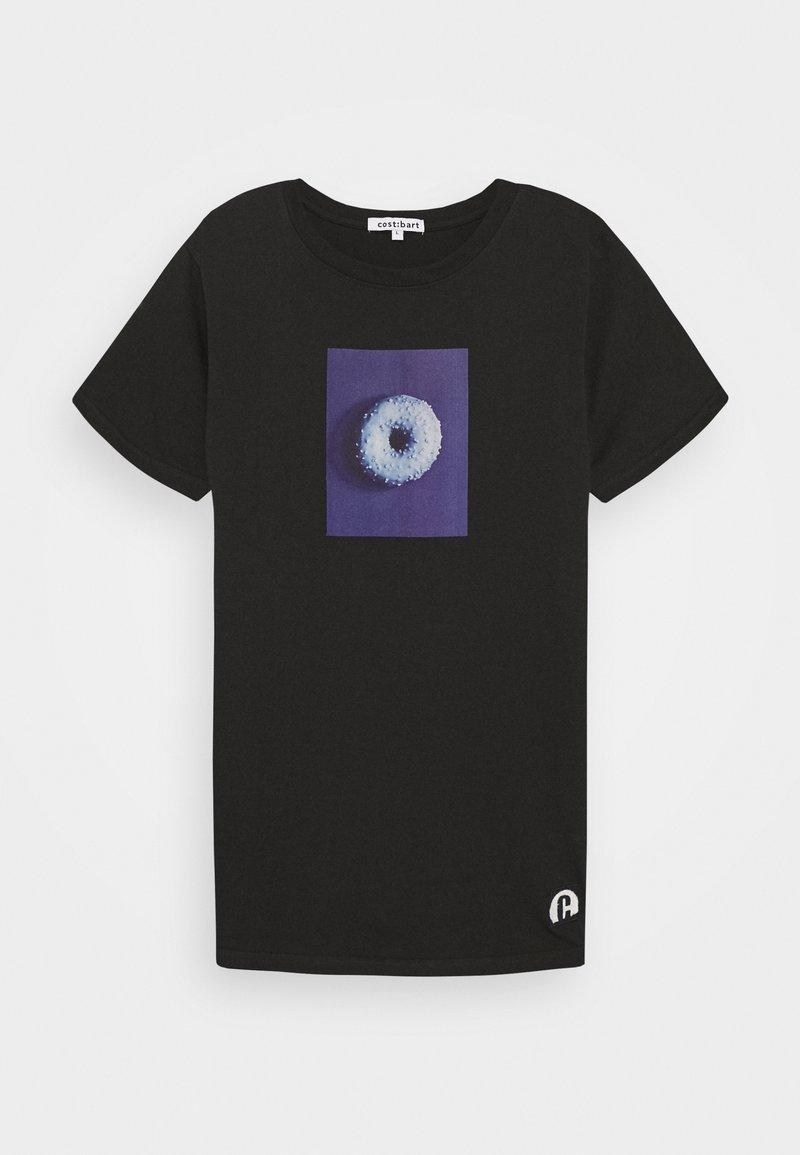 Cost:bart - KAGAN TEE - Print T-shirt - caviar