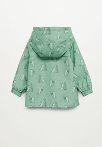 Mango - Waterproof jacket - groen - 1