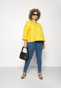Levi's® Plus - 721 HI RISE SKINNY - Jeans Skinny Fit - bogota heart - 1