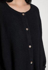 American Vintage - DAMSVILLE - Cardigan - black - 4