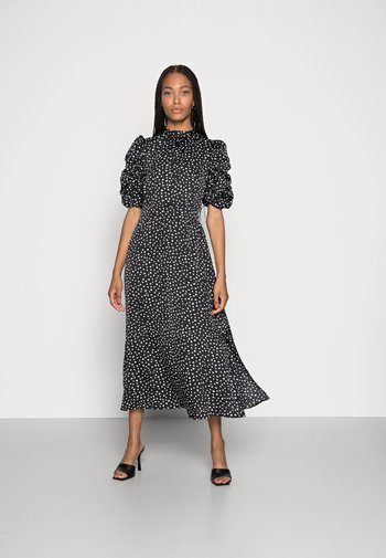 SANYU DRESS - Vestito elegante - black white