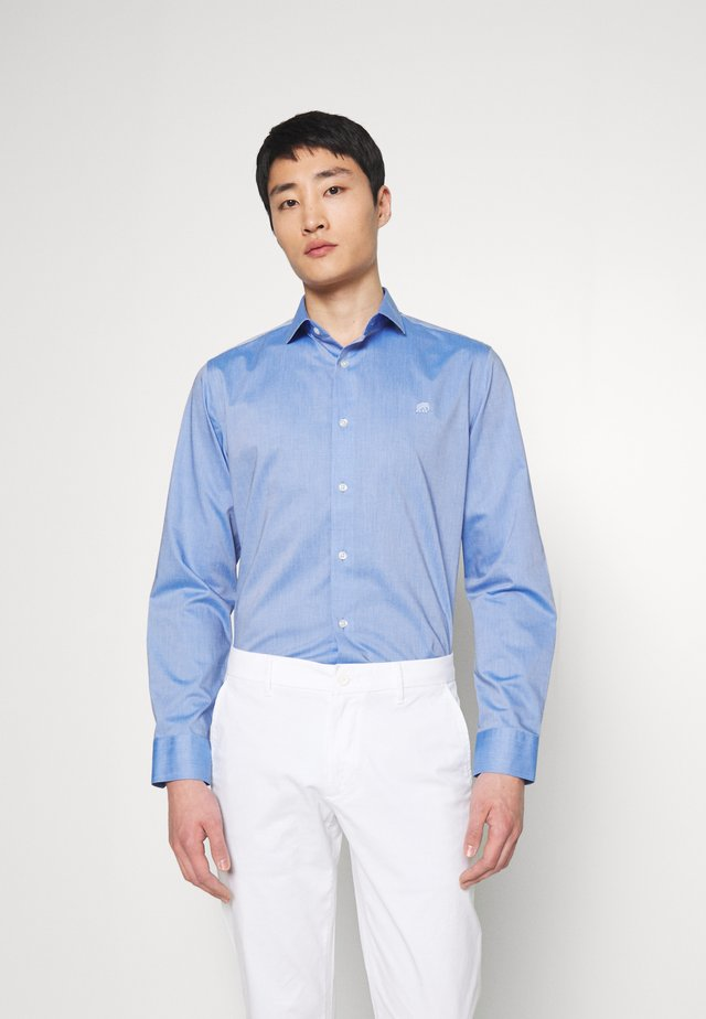 LOGO SOLID - Formal shirt - blue