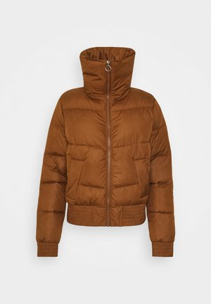 FASHION PUFFER - Winter jacket - brown