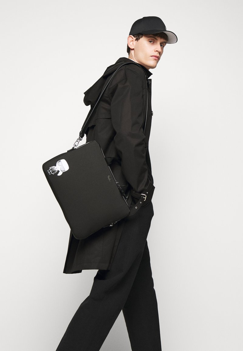 KARL LAGERFELD - IKONIK LAPTOP UNISEX - Notebooktasche - black