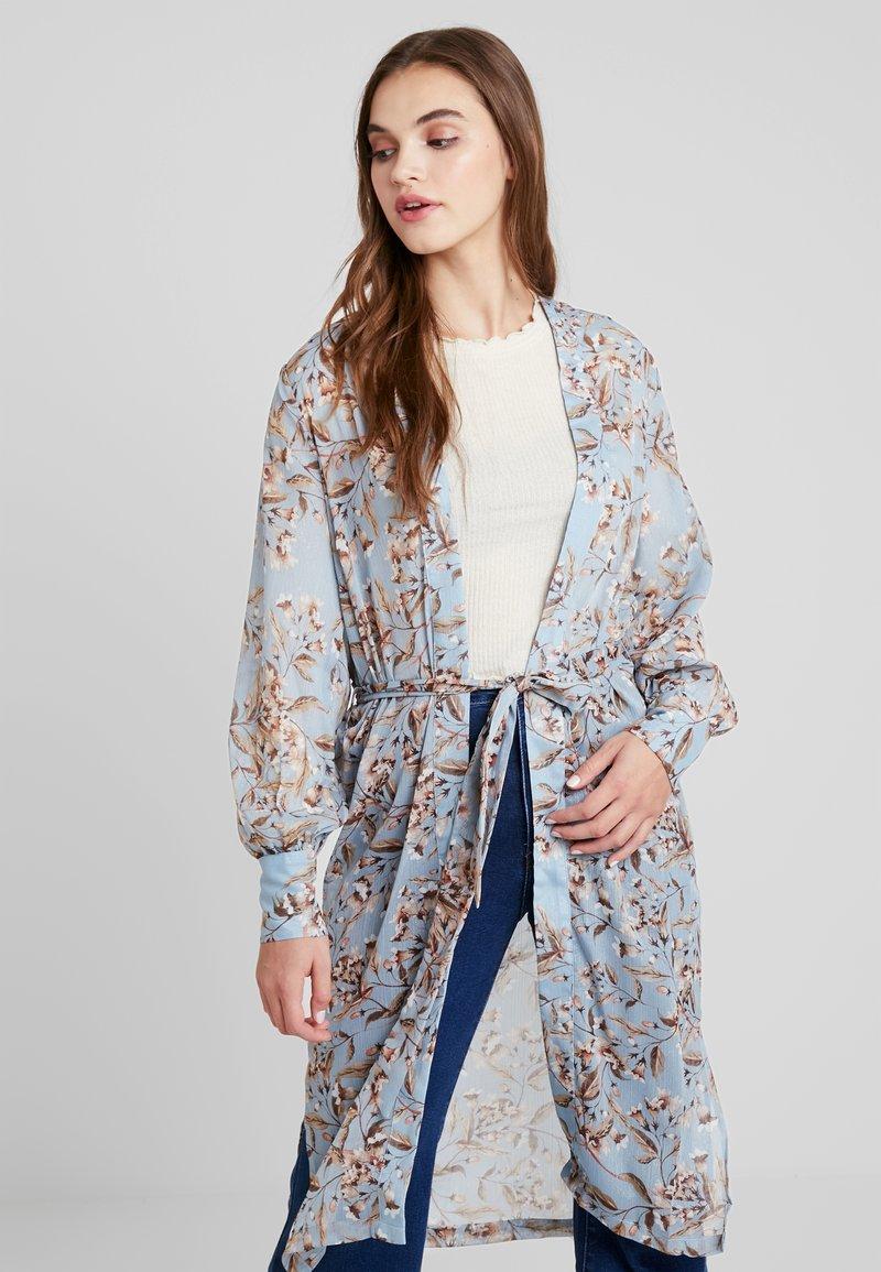 YAS - YASMILIVA KIMONO - Summer jacket - allure/miliva