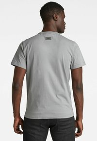 G-Star - STITCH DETAIL POCKET - T-shirt con stampa - charcoal - 1