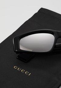 Gucci - Gafas de sol - black/silver - 2