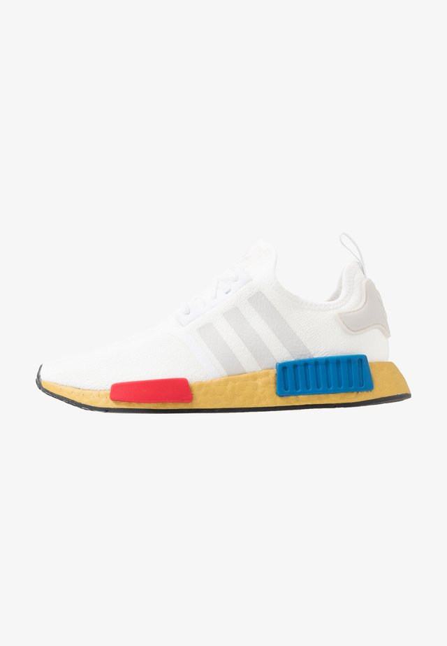 NMD_R1 - Matalavartiset tennarit - footwear white/lush red/lush blue