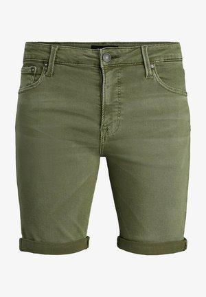 JJIRICK JJICON SHORTS AMA  - Short en jean - grün