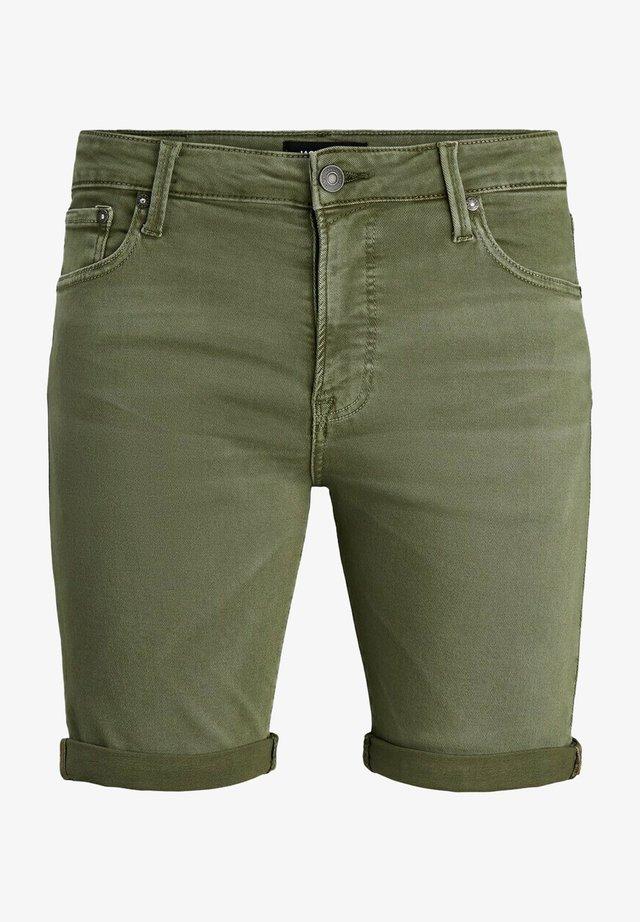 Jeansshort - grün