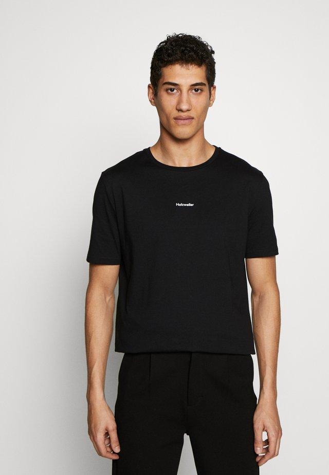 IDENTITY TEE  - T-shirt con stampa - black