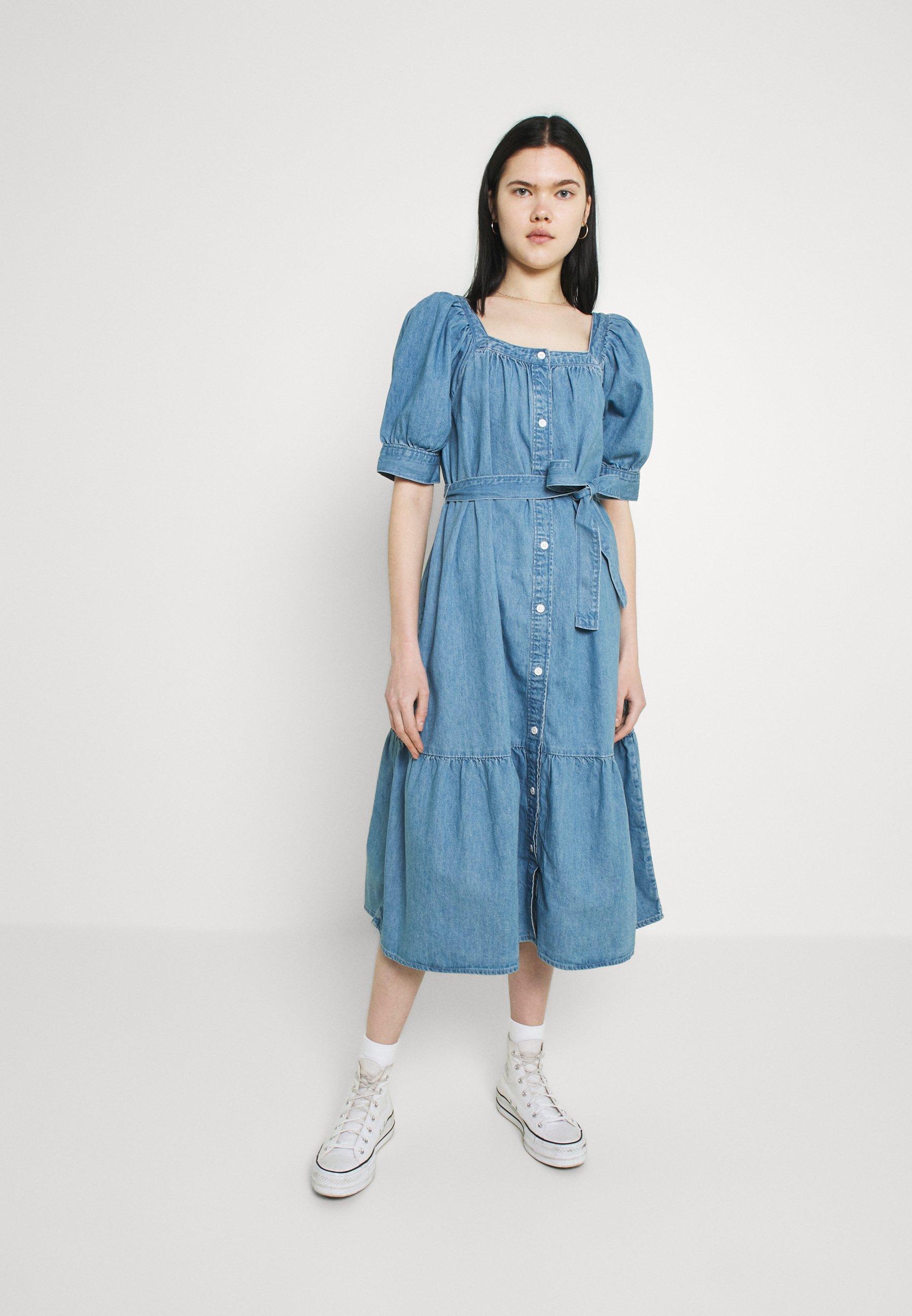 Women MIKA DRESS - Denim dress