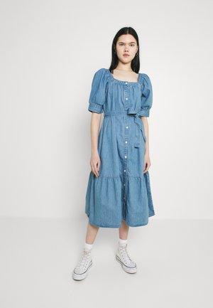 MIKA DRESS - Spijkerjurk - blue denim