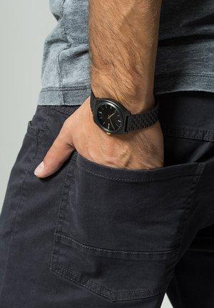 Watch - matte black/gold-coloured