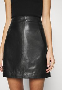 JUST FEMALE - MOON SKIRT - A-line skirt - black - 3