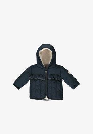 MIT AUFGESETZTEN RÜSCHEN - Winter jacket - steiff navy