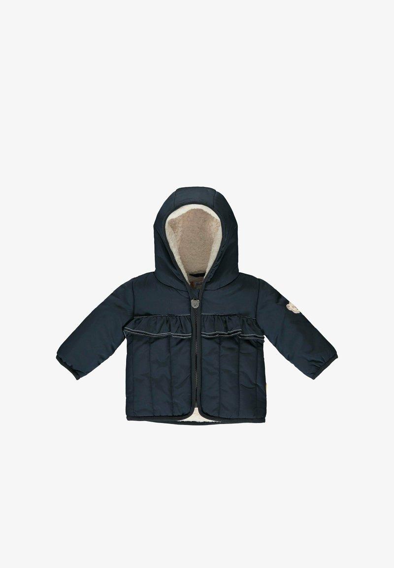 Steiff Collection - MIT AUFGESETZTEN RÜSCHEN - Winter jacket - steiff navy