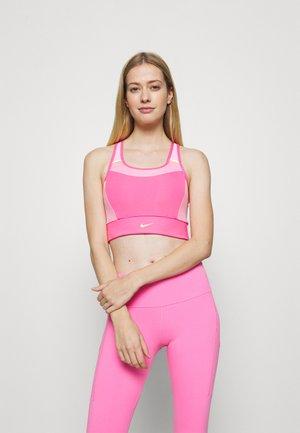 POCKET BRA PAD - Sport-bh met medium support - pinksicle/pink rise/melon tint