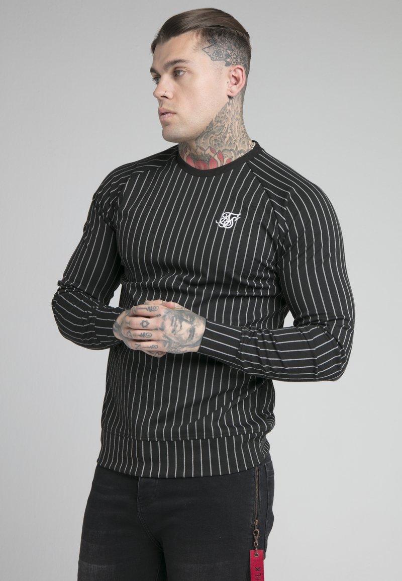 SIKSILK - CREW - Sweater - dark blue