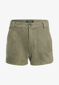 BONOBO Jeans - Shorts - vert khaki - 4