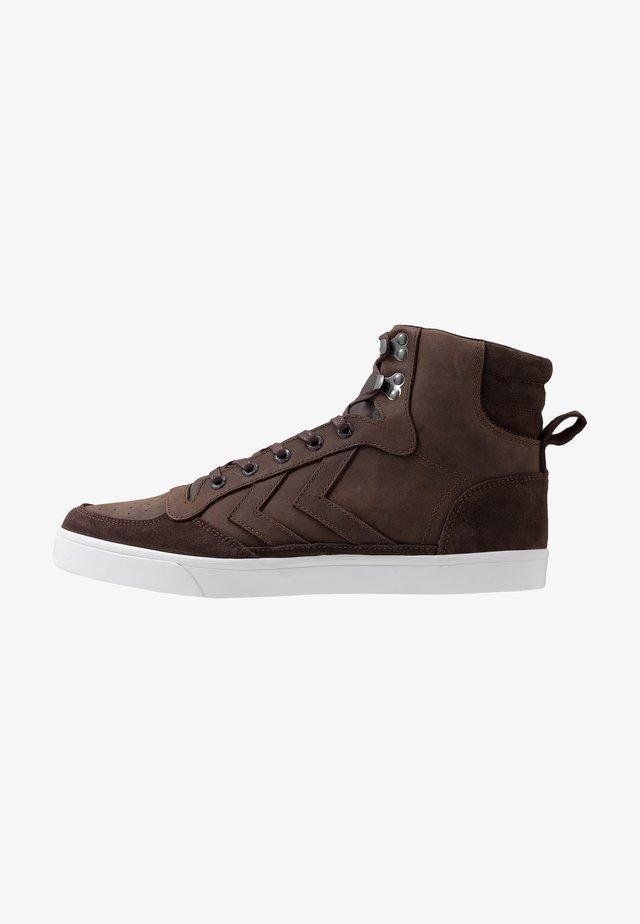 STADIL WINTER - Sneakersy wysokie - chestnut