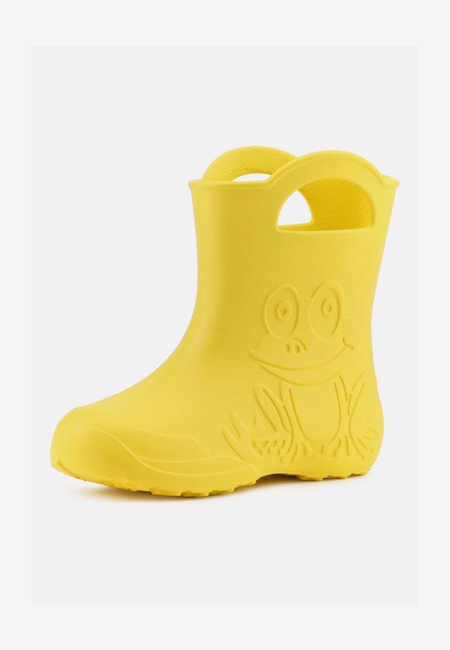 Regenlaarzen - yellow