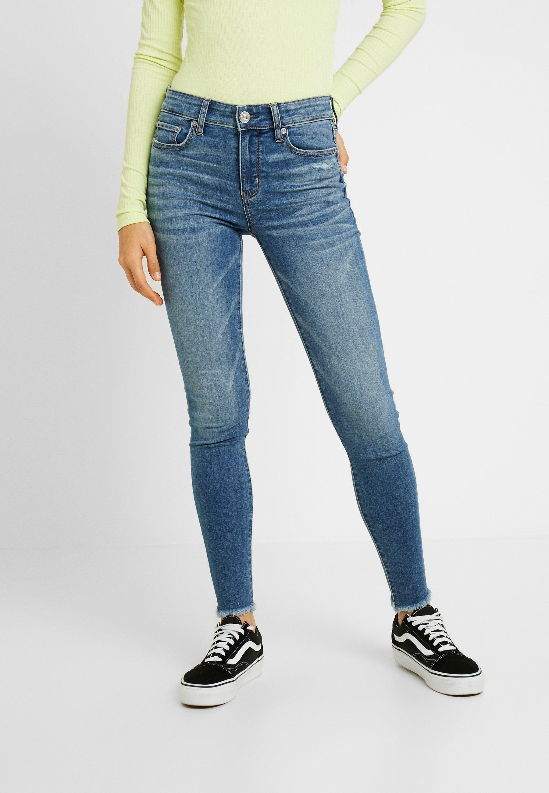 American Eagle Jeans Skinny - blue denim - Jeans Femme Ke4QV