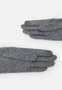Lauren Ralph Lauren - BLEND BELTED GLOVE - Gloves - grey heather - 1