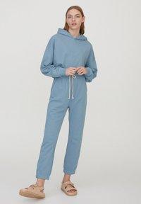 PULL&BEAR - Pantaloni sportivi - blue - 1