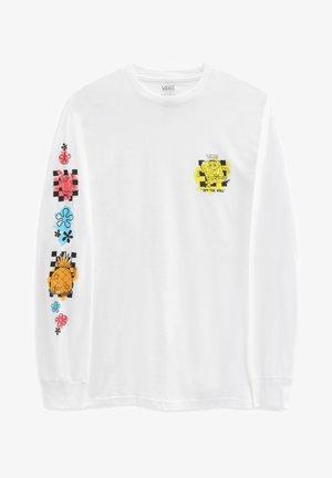 MN VANS X SPONGEBOB AIRBRUSH LS - Långärmad tröja - white