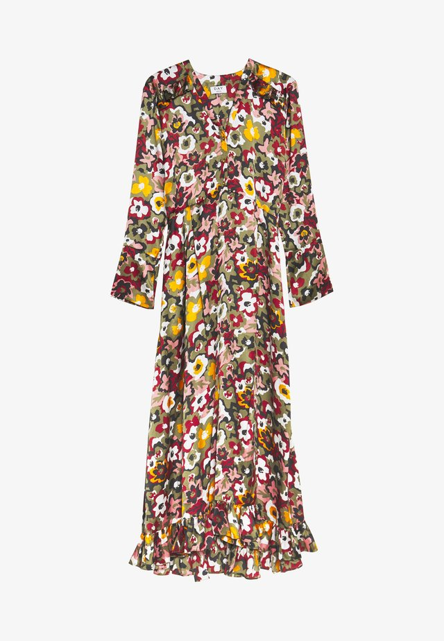 DAY DOVE - Shirt dress - forest