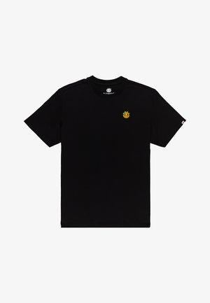 FOXWOOD - Print T-shirt - flint black
