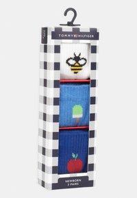 Tommy Hilfiger - BABY NEWBORN GIFTBOX 3 PACK UNISEX - Socks - blue - 3