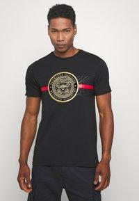 Glorious Gangsta - ALANIS - T-shirt z nadrukiem - black - 0