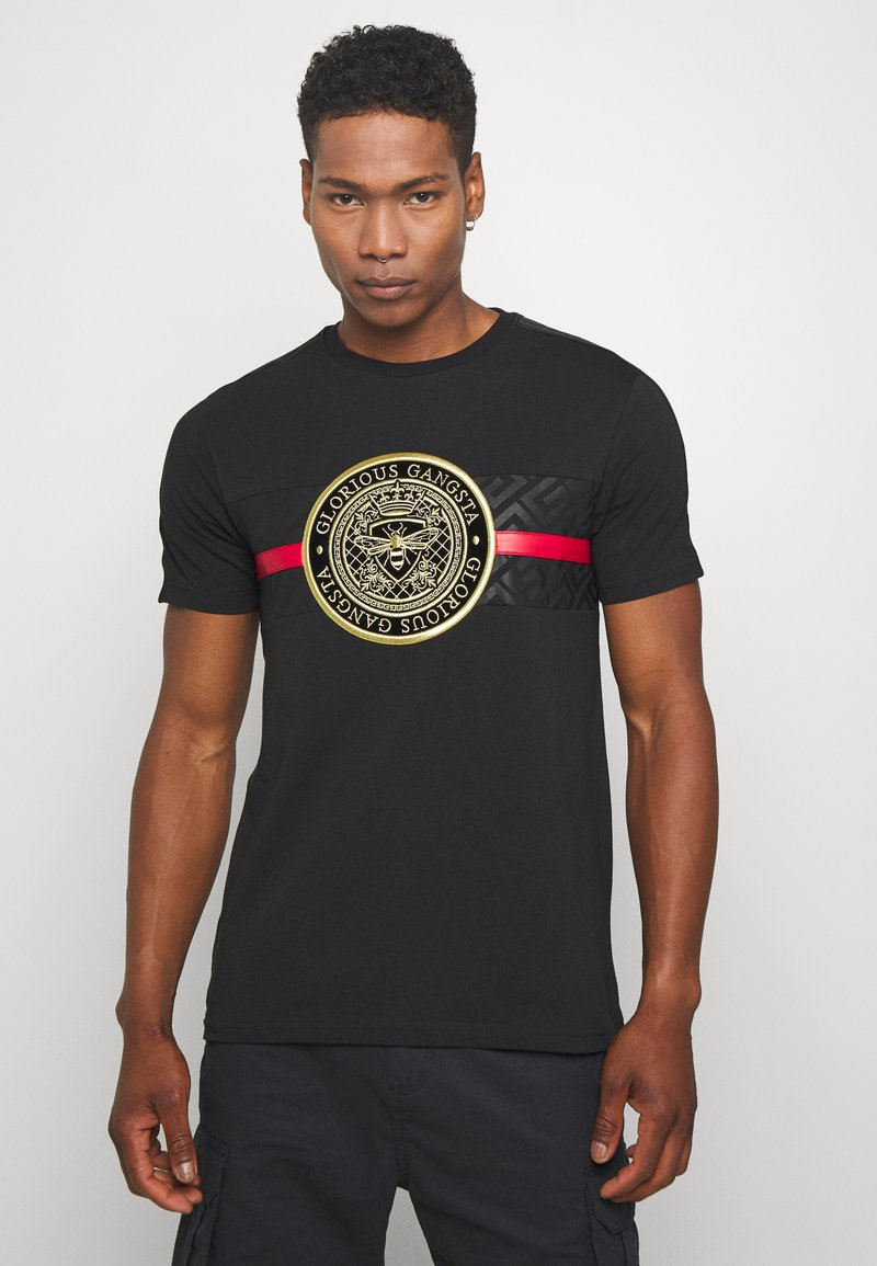 Glorious Gangsta - ALANIS - T-shirt z nadrukiem - black
