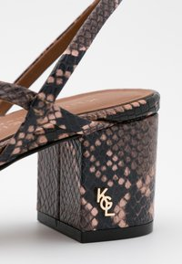 Kurt Geiger London - BURLINGTON SLING - Classic heels - pink - 4