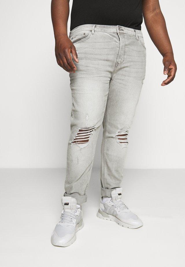 DISTRESS - Slim fit jeans - grey